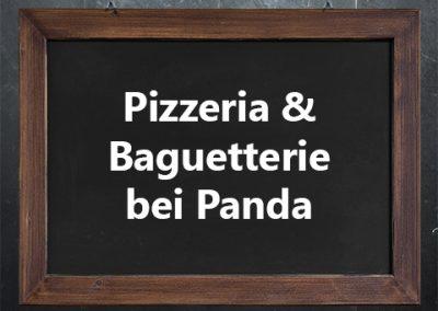 Pizzeria & Baguetterie bei Panda